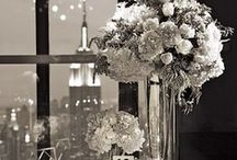 Tablescapes, Silver. Indian Weddings Magazine / Indian Weddings Inspirations: Silver Tablescapes