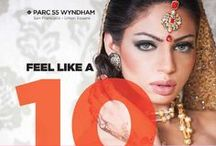 Wyndham Parc 55: Indian Weddings Magazine Preferred Vendor / Wyndham Parc 55 Hotel 55 Cyril Magnin Street, Union Square San Francisco, California 94102 (415) 392-8000  https://www.facebook.com/Parc55Hotel?fref=ts / by Indian Weddings & California Bride