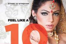 Wyndham Parc 55: Indian Weddings Magazine Preferred Vendor / Wyndham Parc 55 Hotel 55 Cyril Magnin Street, Union Square San Francisco, California 94102 (415) 392-8000  https://www.facebook.com/Parc55Hotel?fref=ts