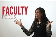 Faculty Focus / Learn about the awesome things our faculty are up to when they aren't in front of the classroom.
