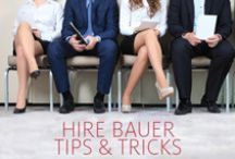 Hire Bauer Tips & Tricks / Information about interviewing, internships, and the quest for employment.