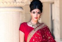 Ritu Bajwa Makeup and Hair: Indian Weddings Magazine Preferred Vendor / Exquisite makeup and hair designs. Contact Ritu at (209) 321-1371 or ritubajwa@hotmail.com / by Indian Weddings & California Bride
