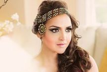 Suhagan Shimmers: Indian Weddings magazine Preferred Vendor / Preeti Mudan offers professional hair and make-up services to make you look your very best. Her clients have included Esha Deol and Preity Zinta! Contact her at info@suhaganshimmers.com or at 650-267-0003 / by Indian Weddings & California Bride
