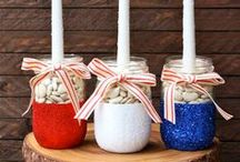 Holiday // Patriotic Goodness / 4th of July and Memorial Day crafts, recipes, and party ideas
