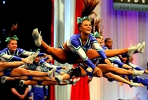 keep calm and cheer on / by Megan Vallely