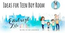 DESIGN: Boy Room Decor Ideas / As my oldest boy grows up, I'd like to gather ideas that help me to design a room that reflex's his personality and shows him that I care about his likes and dislikes!