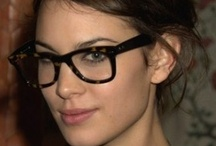 Pretty in glasses
