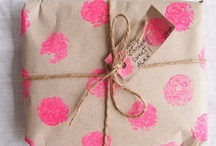Pretty presents & Gift ideas / Gift giving and present wrapping!