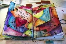 Art / Creativity - Donna Downey / by Marti is YarleysGirl
