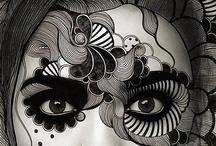 Art - Sketches & Drawings / by Marti is YarleysGirl