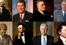 Portraits of U.S. Presidents / by wcnc