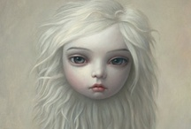 """Art - Mark Ryden / One of the most well known artists of the Pop Surrealist movement, an underground, pop-culture-infused art scene with its origins in 1970s Southern California.  Dubbed """"the god-father of pop surrealism"""". / by Marti is YarleysGirl"""