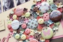 Art / Creativity / Craft - Buttons / by Marti is YarleysGirl