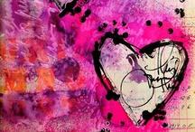 Art / Creativity - Dina Wakley / by Marti is YarleysGirl