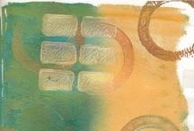 Art / Creativity / Craft - Gelli Art / by Marti is YarleysGirl