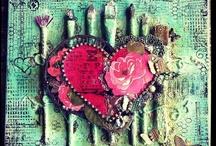 Art / Creativity - Altered / Mixed Media / by Marti is YarleysGirl