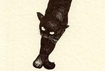 Gatti > Arte / Cats > Art / by A. Cucchiero