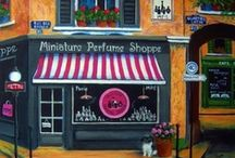 Miniature Perfume Shoppe / Collecting minis is Ⅎ∩Ntastic! Miniature Perfume Shoppe offers a charming array of more than 5,000 collectible miniature perfume bottles from decades past to present day. Included on this board are just a few of our favorites.