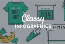Best of Classy's Infographics / Quick and colorful ways to discover nonprofit fundraising and marketing, trends, and leadership best practices.
