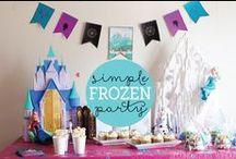 little celebrate: frozen party