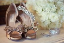 Wedding shoes by Jules / A collection of shoes I have photographed