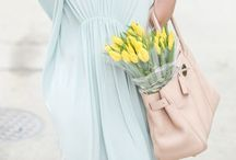 SPRING IS IN THE AIR / Fresh flowers, Easter and pastel colors....