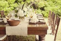 TaBleScapeS / by Kristen Smith Chumley