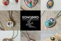 Songbird Jewelry & Accessories / To buy visit www.etsy.com/shop/songbirdjewelry