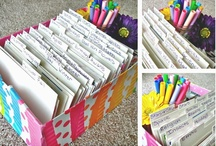 Organization Made Easy / Practical tips and inspiring photos to help all of us become a little more organized. Colorful organization inspiration and DIY ideas for your classroom and home.