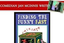 Humor Writing - Finding the Funny Fast! / I've written for everyone from the Tonight Show monologue with Jay Leno to greeting cards, radio, syndicated cartoon strips and even guests on the Jerry Springer show (my parents are proud!). I also wrote this book to show how ANYONE can add humor to business and personal communications -- buy it here: http://amzn.to/1sVAsCh and I have a comedy writing blog.