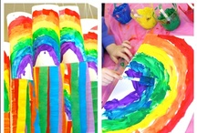 St Patrick's Day / St. Patrick's Day rainbows, crafts, snack ideas, and St. Patrick's Day printables for your classroom!