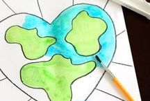 Earth Day / Celebrate Earth Day with these great Earth Day crafts, art projects, printables, and Earth Day recipes.