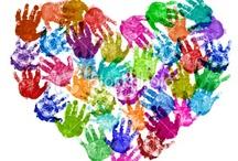 Handprint Art / Handprint art ideas for every season. Handprint gifts and keepsakes made with little hands!
