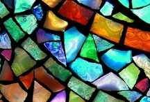 Mosaic and Stained Glass / by Becca Loechler