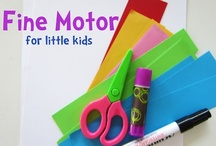 Fine Motor Skills / Fine motor skills work to encourage proper pencil grasp and writing. Strength hands with cutting practice and fine motor work for your preschool and kindergarten classrooms!