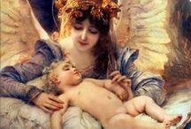 Angel & cherub  / angel / by Ott Smith