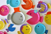 Paper Plate Art / Use paper plates to make beautiful kids crafts, paper plate art creations, and fun extensions for kids books!