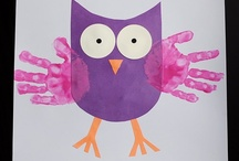 Owls / Fun owl art, crafts, and activities for kids!