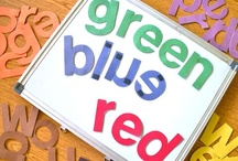 Color Words / Use color words in your preschool and kindergarten classrooms today! Free printable color words, color word activity ideas, and color words supplies to make a fun kids activity!