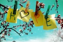 Hope & Hearts - Toivovat sydämet / Elämä on täynnä toivoa ja sydänten sykettä. Life is full of Hope and Hearts beating as One.