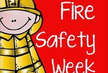 Fire Safety / Fire safety crafts and learning materials for young children. Great for fire safety unit in classrooms!