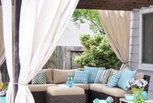 Inspiration for the Deck - Backyard / Outdoor Spaces – patios - decks - porches - back yards - etc.