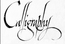 CALLIGRAPHY / by Jean Smith