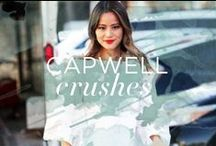Capwell + Co. Crushes / Street style photos of our favorite celebrities and fashion bloggers wearing Capwell + Co. jewelry.