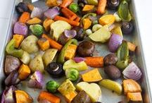 Vegetables - Veggies - Wholesome Healthy / Garden Vegetable recipes for the best dinner side dishes | Potatoes | Carrots | Sweet Potatoes | Cauliflower | Broccoli | Asparagus | Peppers | Green Beans