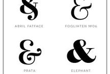 Type Casting / type & font