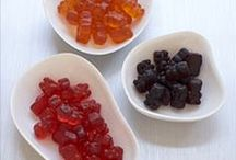 Gummy Pandas / Two-time winner of the coveted Sofi Award (Specialty Outstanding Food Innovation), our Gummy Pandas come in 6 genuine fruit flavors.