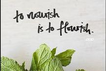 one little word 2015 // nourish