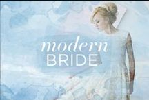 Modern Wedding / Chic, minimal, and thoroughly modern.