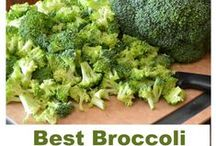 BROCCOLI RECIPES / It is a very good source of dietary fiber, pantothenic acid, vitamin B6, vitamin E, manganese, phosphorus, choline, vitamin B1, vitamin A (in the form of carotenoids), potassium, and copper. Broccoli is also a good source of vitamin B1, magnesium, omega-3 fatty acids, protein, zinc, calcium, iron, niacin, and selenium. (  Live Science per Google ) / by Jean Smith